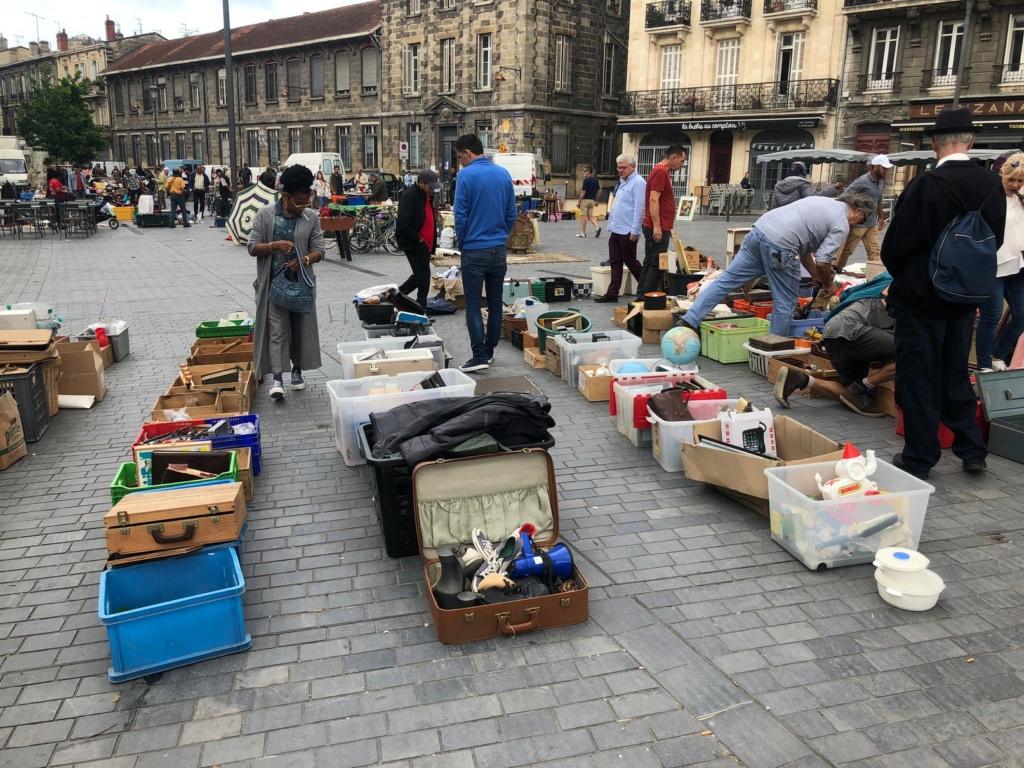 Krāmu tirgus Bordo