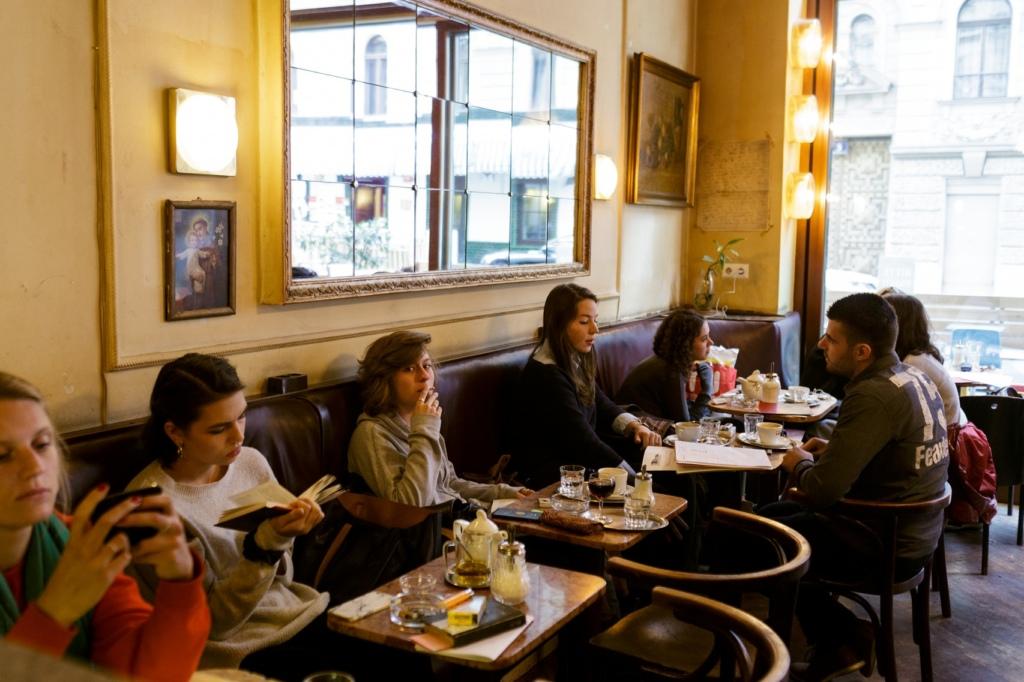 Caffe Kafka. Foto: A. Strokins.
