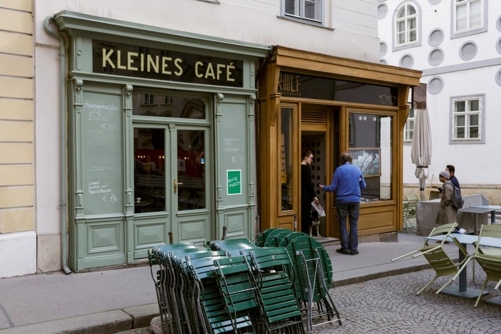 Kleines Cafe. Foto: A. Strokins.