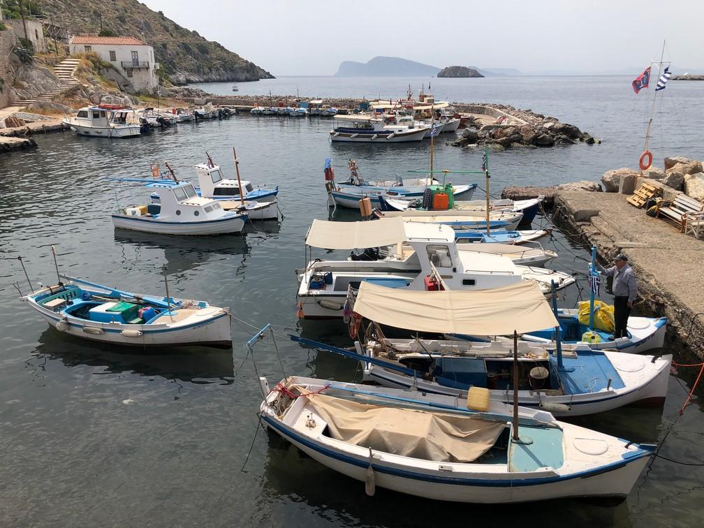 Egejas jūras salas