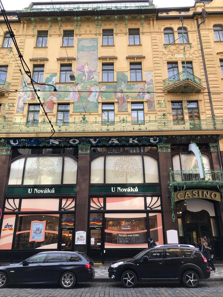 Arhitektūra Pragā